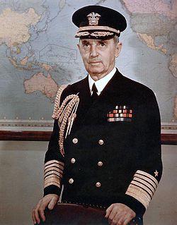 Fleet Admiral William D. Leahy, c. 1945