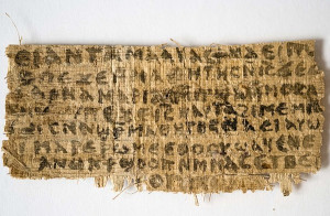 ... Unveils Ancient Script That Allegedly Quotes Jesus Referring to Wife