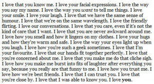 Love You Because Quotes   Love Quotes Today   We Heart It
