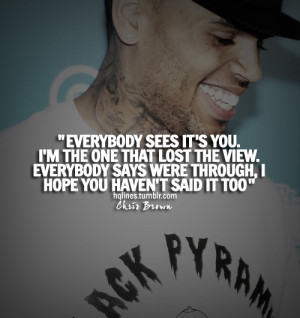 chris brown, hqlines, quotes, sayings