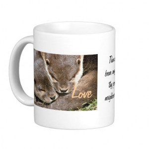 Love Quote - Otters Coffee Mugs