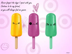 Childhood Friendship Wallpaper With Quotes .