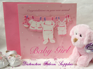 Girl New Baby Card Great Range