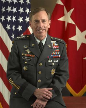 Army Gen. David H. Petraeus, shortly before retirement.
