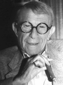 George Burns quotes. On Happiness