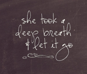 """An Extra Boost Of…{""""Letting Go"""" Inspiration!}"""