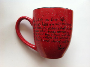 The Vow Quotes Leo The vow mug (paige and leo's