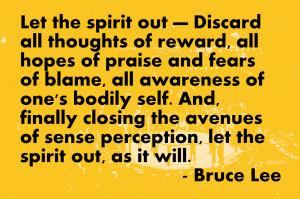 Team Spirit Quotes Bruce lee quotes
