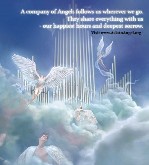 Angels In Heaven Quotes A company of angels