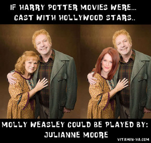 If Harry Potter Movies Were Cast with Hollywood Stars & Celebrities