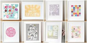 framed sayings for nursery!