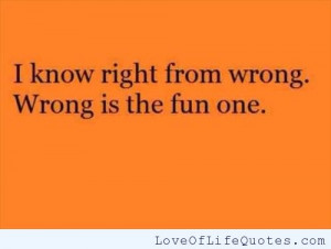 Right from Wrong