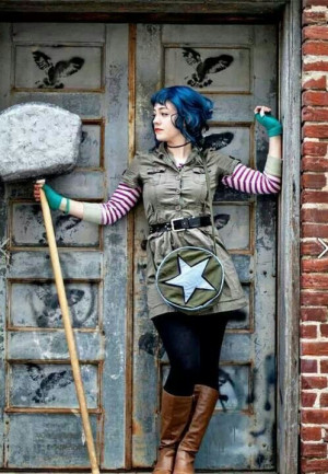 Ramona Flowers. I will have to do my own version of this someday.