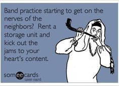 Self Storage is the perfect place for your #garage #band to practice ...