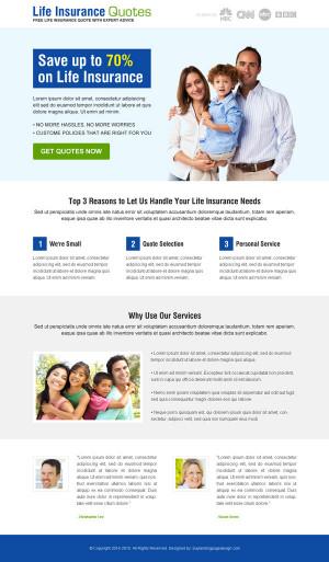 landing page design male enhancement life insurance quotes landing ...