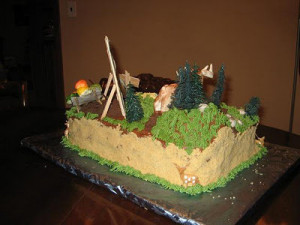 Hunting Cake Ideas