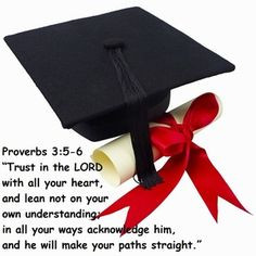 Click the image to read inspirational Bible verses for graduates ...