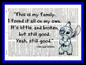 Cute Lilo And Stitch Quotes Lilo and stitch quotes