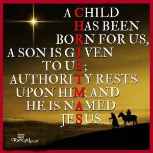 Merry Christmas & Happy Birthday to Jesus!