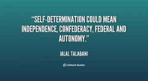 Quotes About Self Determination