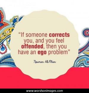 Egoistic quotes