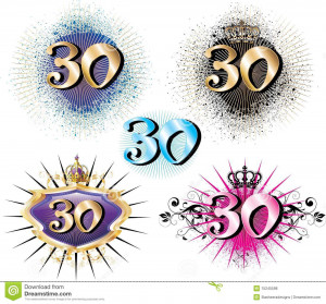 Vector Illustration for Special Birthdays Anniversaries and Occasions ...
