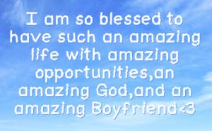 Most Amazing Boyfriend Quotes