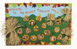 Fall Harvest Bulletin Board