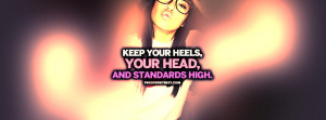 Keep Your Standards High Quote Picture