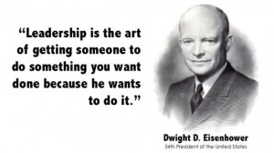 January 19, 2012 • Comments Off on Dwight Eisenhower on Leadership