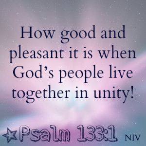 Bible Verses About Family Unity (1)