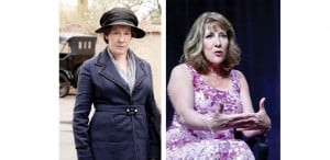 Mrs Hughes Downton Abbey Phyllis Logan Phyllis logan is nothing like