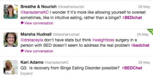 It's A Wrap! The Binge Eating Disorder (BED) Week Campaign has ...