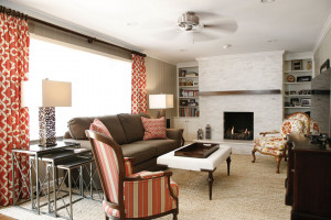 Fireplace makeover - photo courtesy of Atlanta Design & Build ...