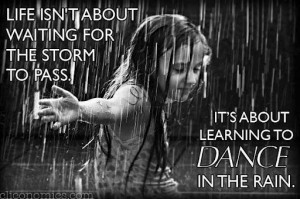 girl dance in rain quotes