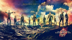 The main tributes in the 75th Hunger Games from left to right: Finnick ...