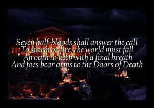Percy Jackson Quotes [Ψ]