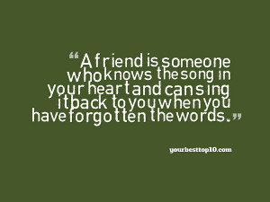 Top Best Friendship Quotes for 2015