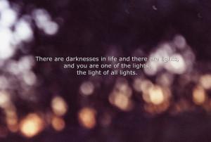 Beautiful Light Love Quote...
