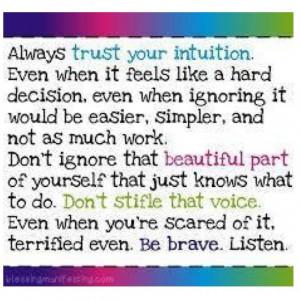 Learn to listen .... always