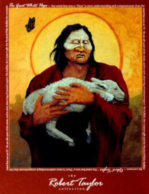 The arrival of the white buffalo is like the second coming of Christ ...