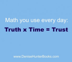 Math I can understand. #quotes #trust