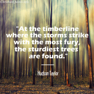 Hudson Taylor Quote – Perseverance