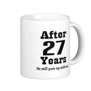 Related Pictures 27th wedding anniversary funny gift for him tees