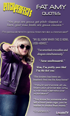 Pitch Perfect's Fat Amy Quotes