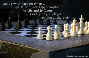 Luck Quotes,Pictures Preparation, Opportunity - Inspirational Quotes ...