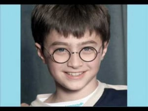 Harry Potter Stars. Then and now.