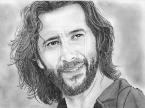 Henry Ian Cusick By Cell40