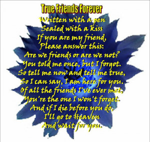poems about best friends forever that rhyme poems about best friends ...