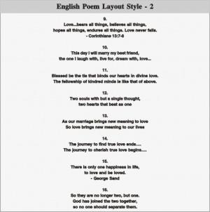 english poem layout 2 english poem layout 3 english poem layout 4 ...
